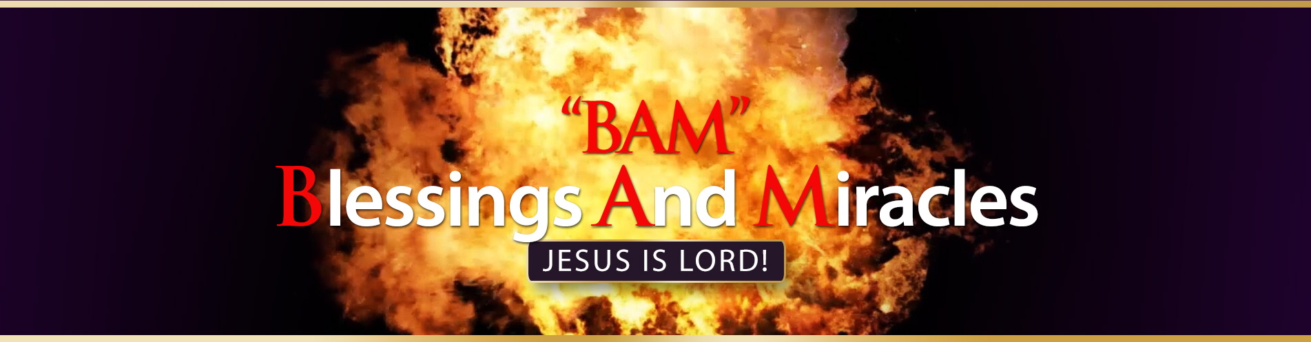 bam crawford ministries blessings and miracles