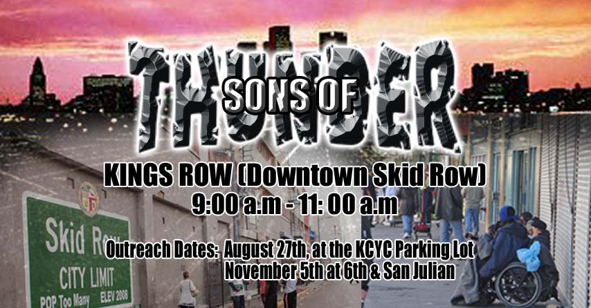 Sons of Thunder - Aug 27