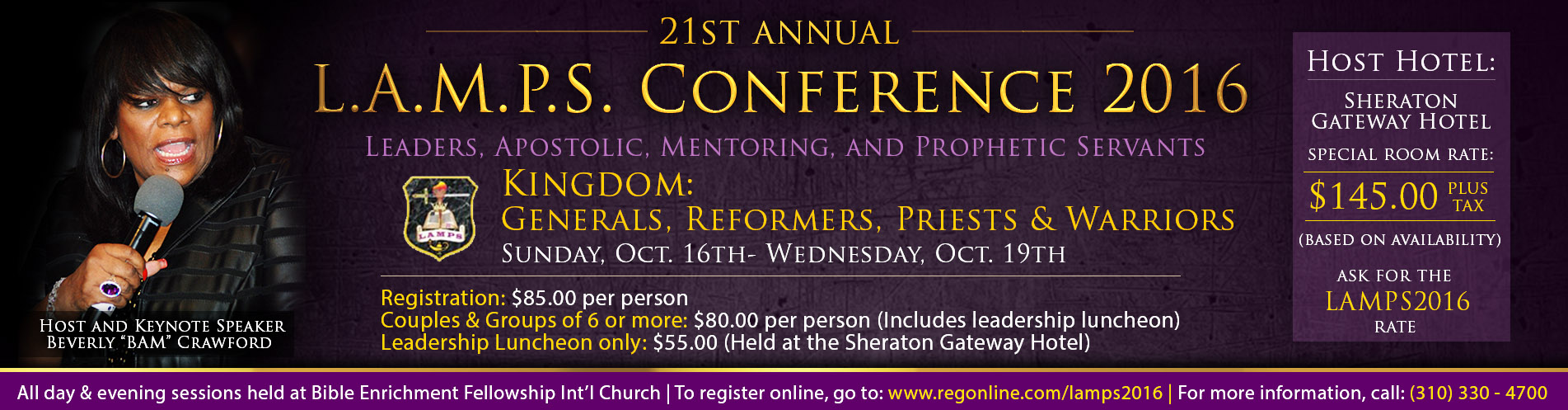 LAMPS Conference Oct 16-19
